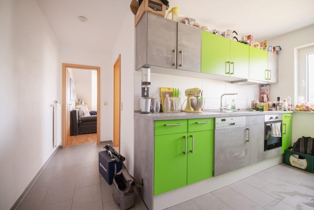 Flur + Küche