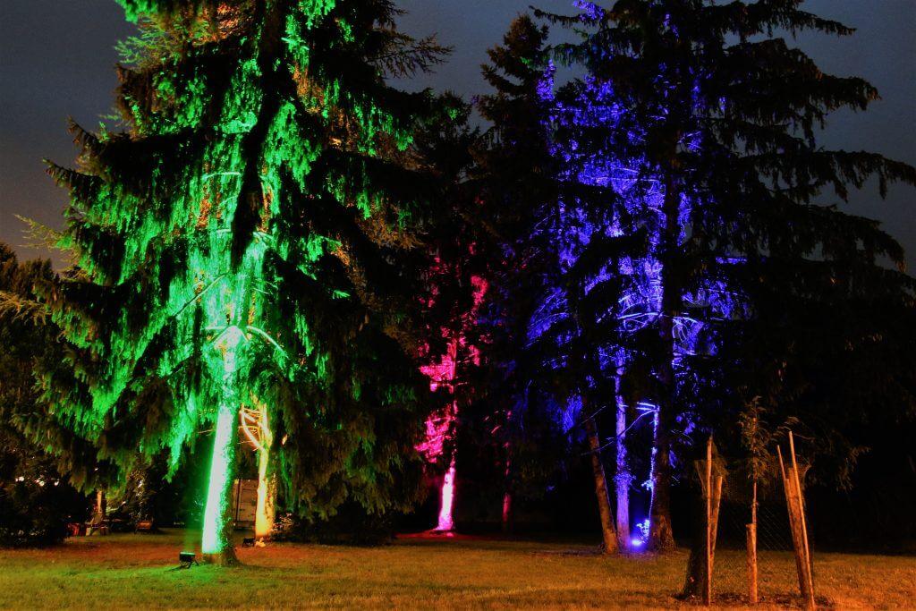 Beleuchtung Burggarten