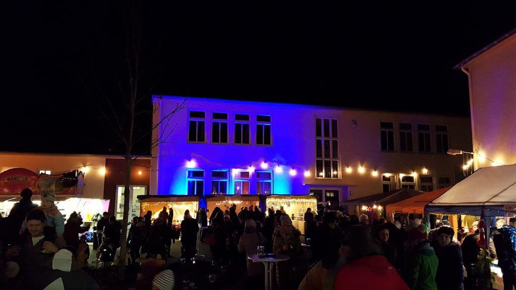 Beleuchtung Grundschule Heidesheim